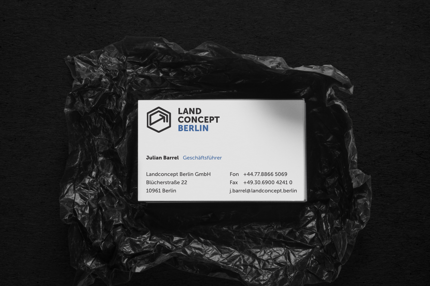 Visitenkarten, Businesscards